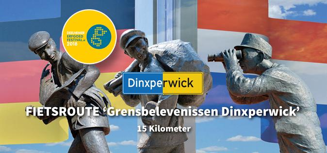 """Fietstocht/Rondwandeling: """"Grensbelevenissen Dinxperwick"""""""