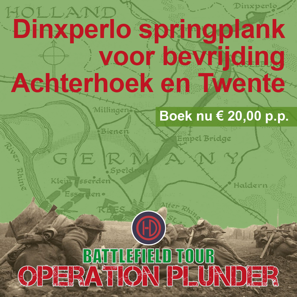 Battlefield Tour Operation Plunder