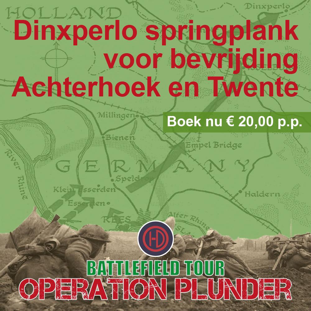 Battlefield Tour Operation Plunder