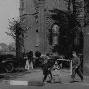 Bij de Evangelische Kerk in Suderwick aan de Sporker Str.